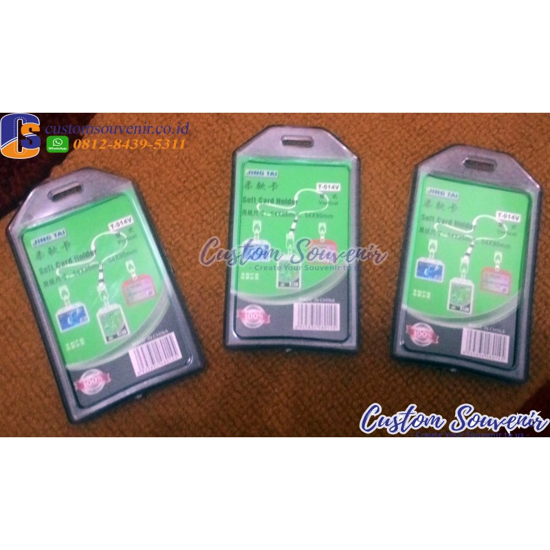 Casing Id Card 2 kartu (Holder)