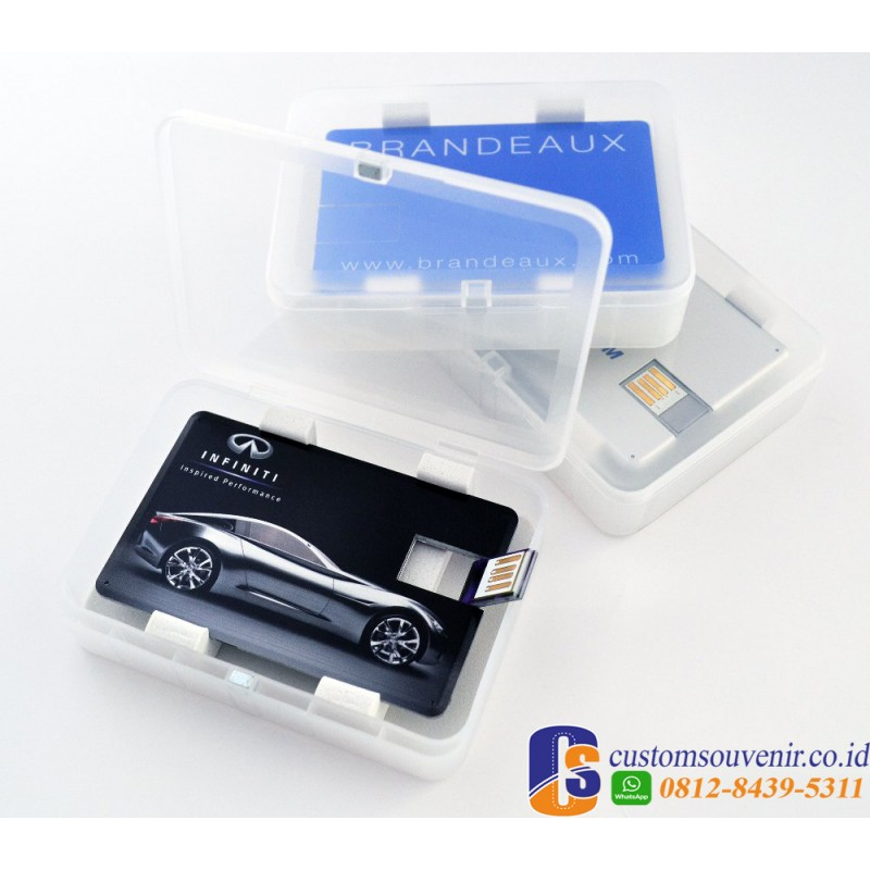 Box Plastik Flashdisk USB Card