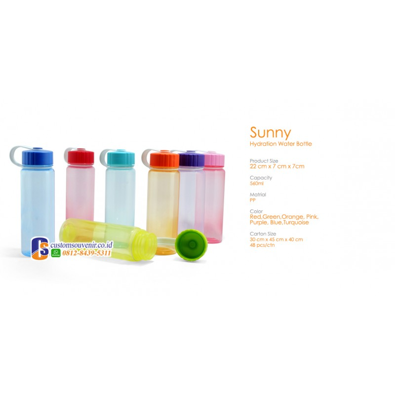 Sunny Hydration Water Tumbler