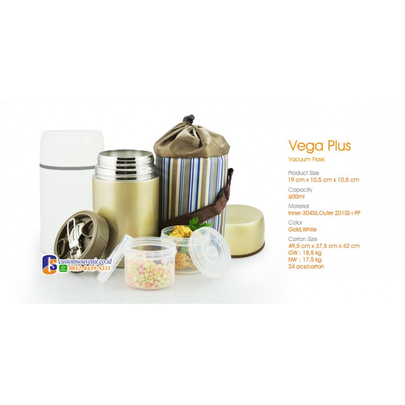 Vega Plus Vacuum Food Jar