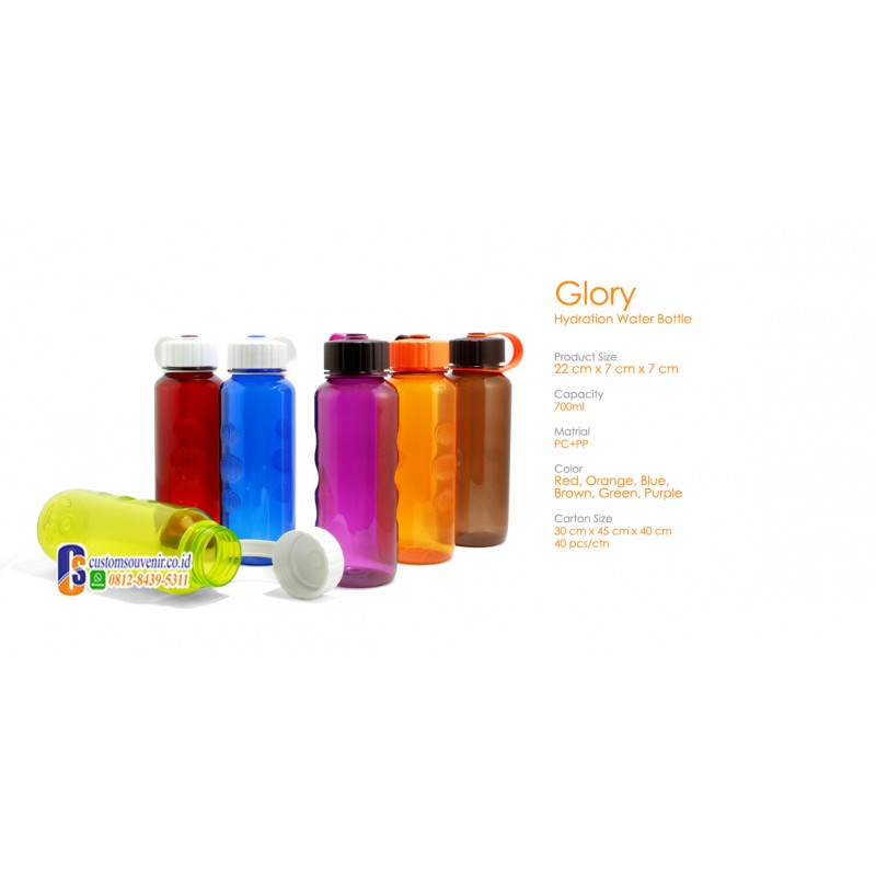Glory Hydration Water Tumbler